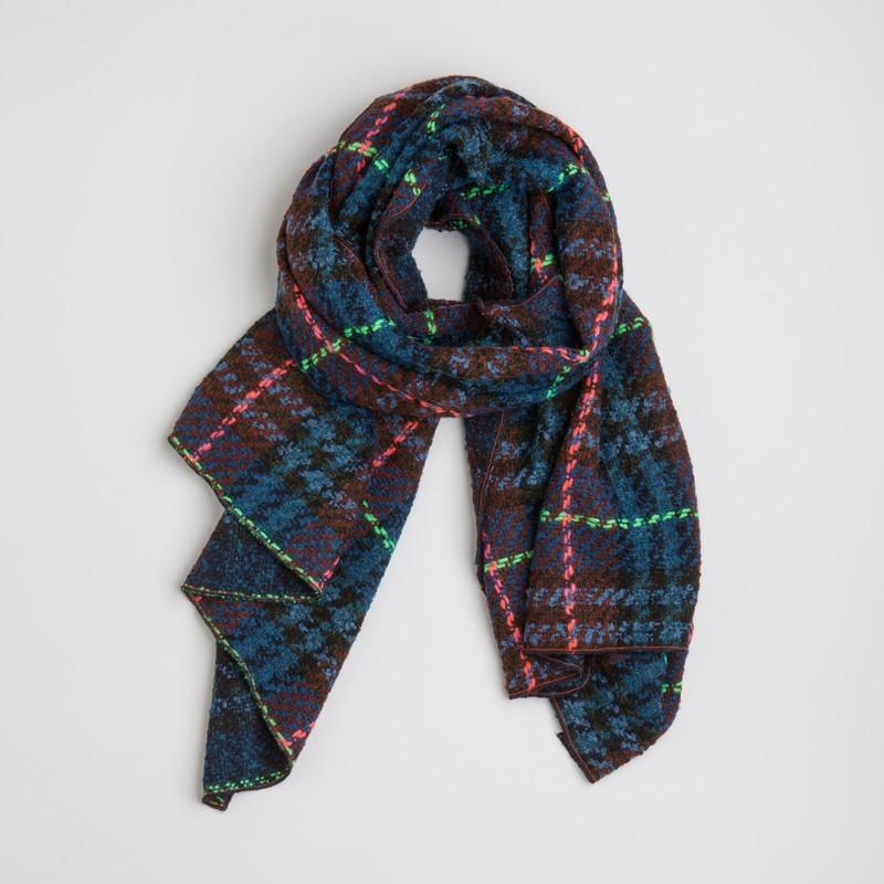 LUCAS maxi mocador Blau