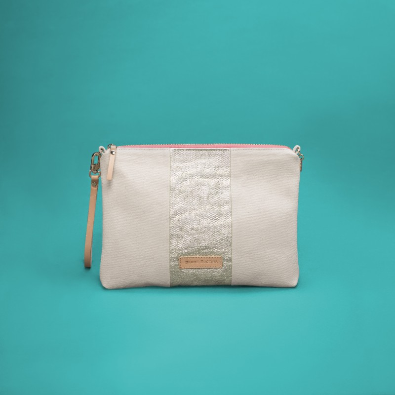 EUGENIA Canvas Off white
