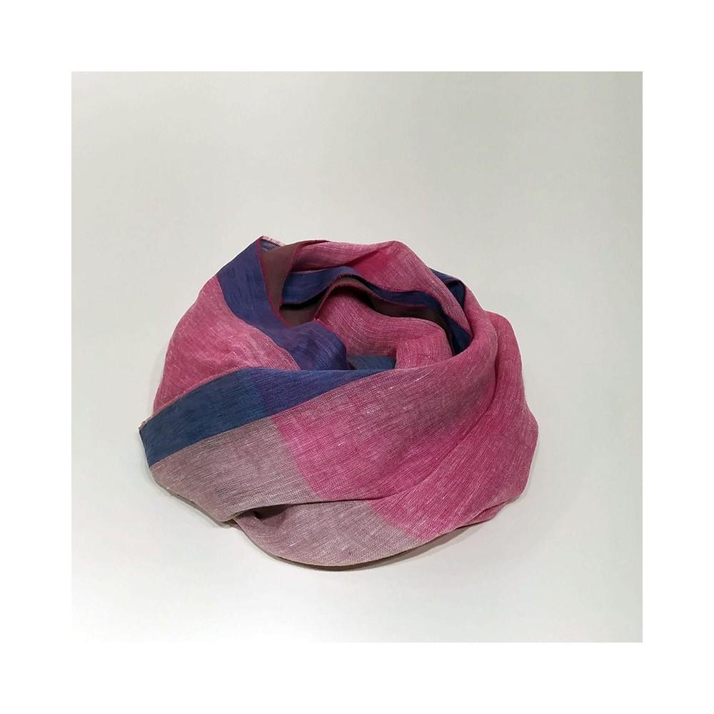 MAXI FOULARD PLAIN Pink