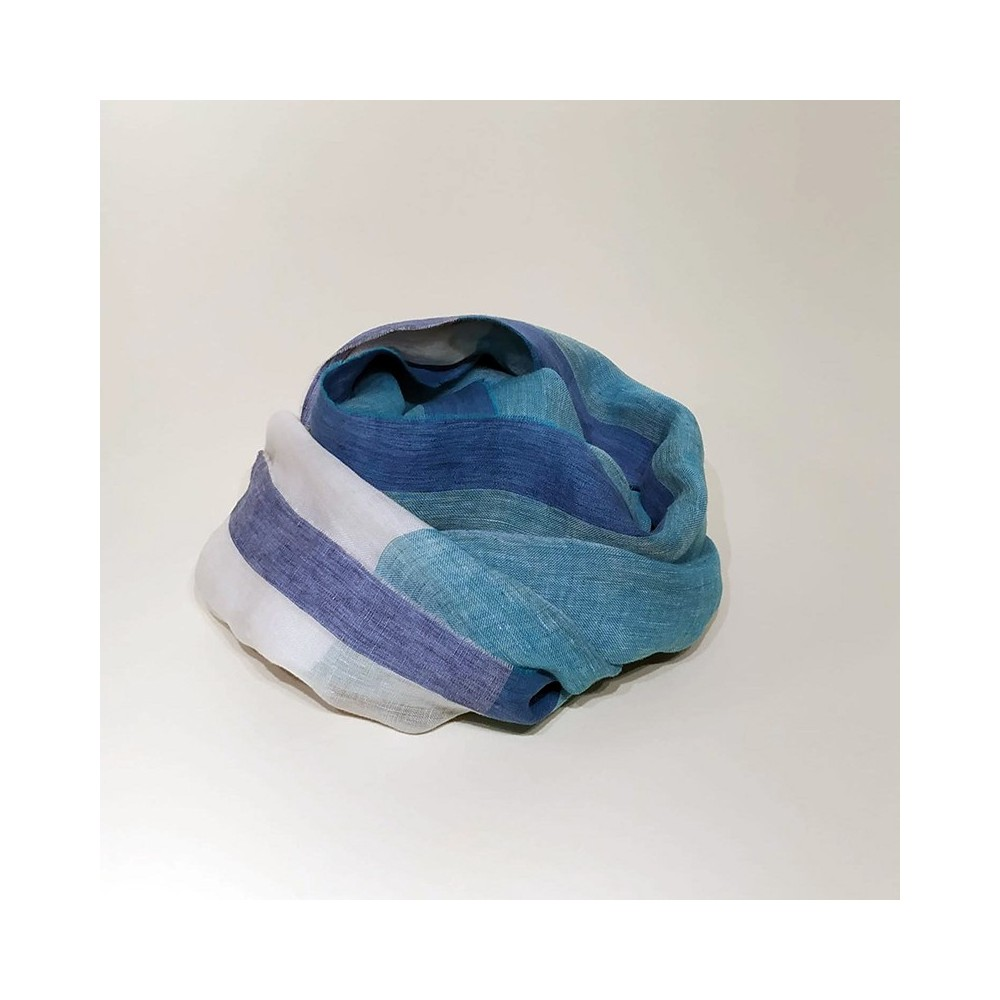 MAXI FOULARD PLAIN Turquoise
