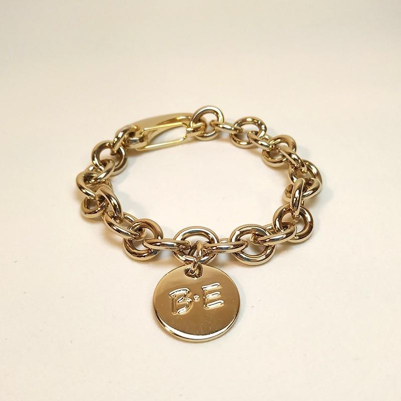 GOLD CHAIN BRACELET Size L