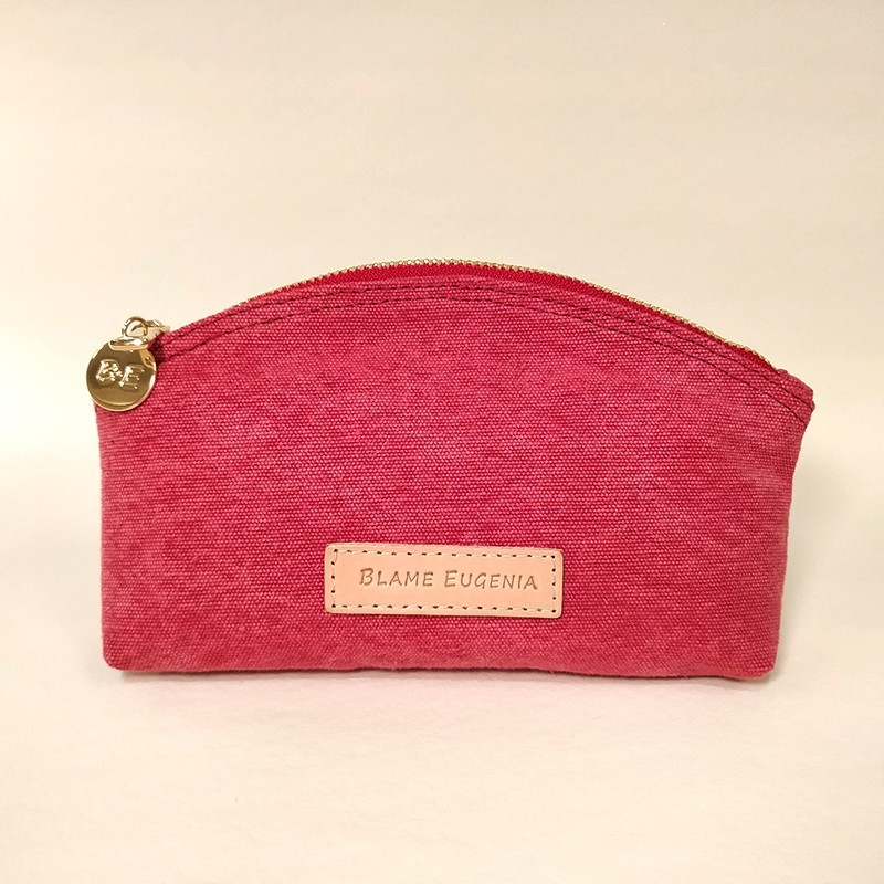 MAKEUP CASE Strawberry canvas