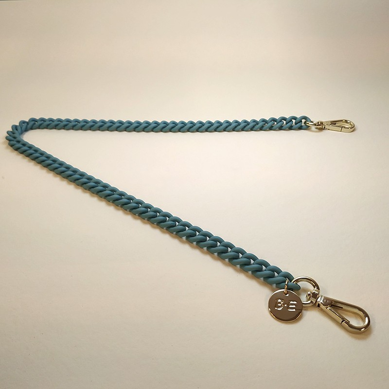 CHAIN STRAP Matt turquoise