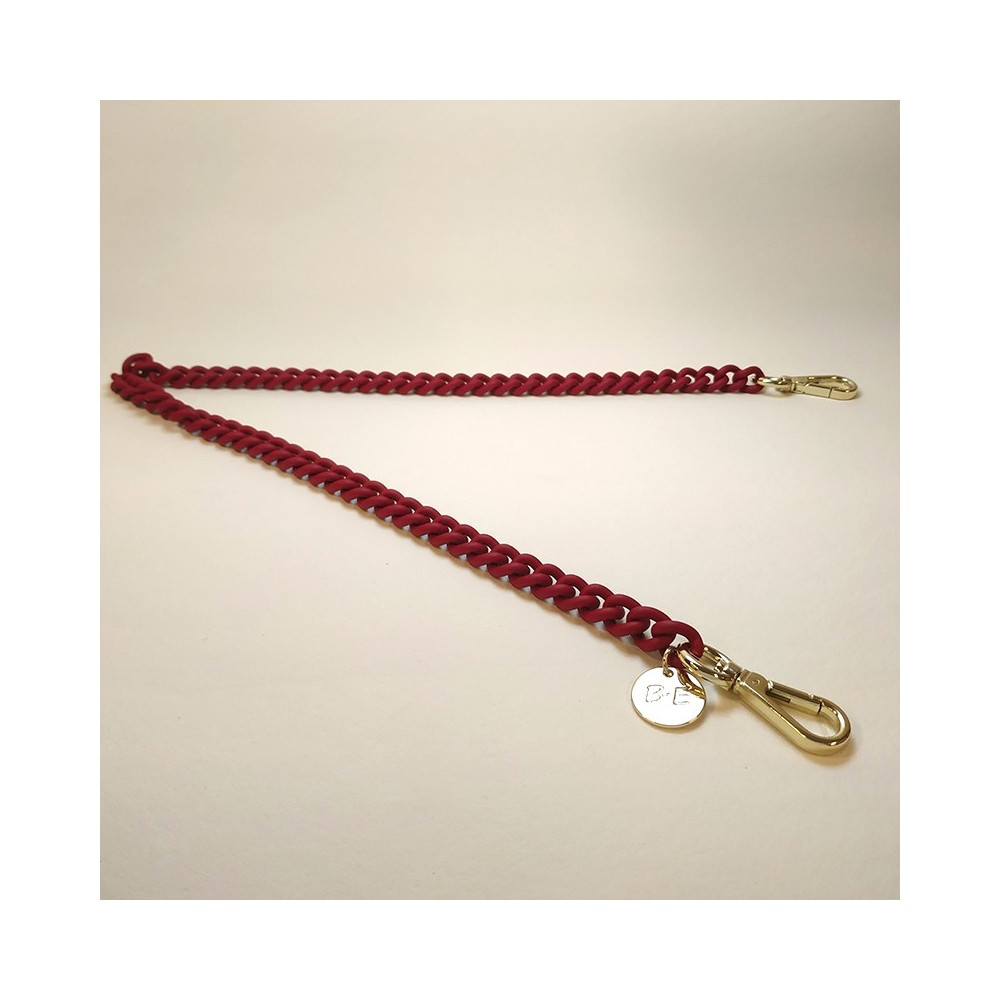 CHAIN STRAP  Matt Red