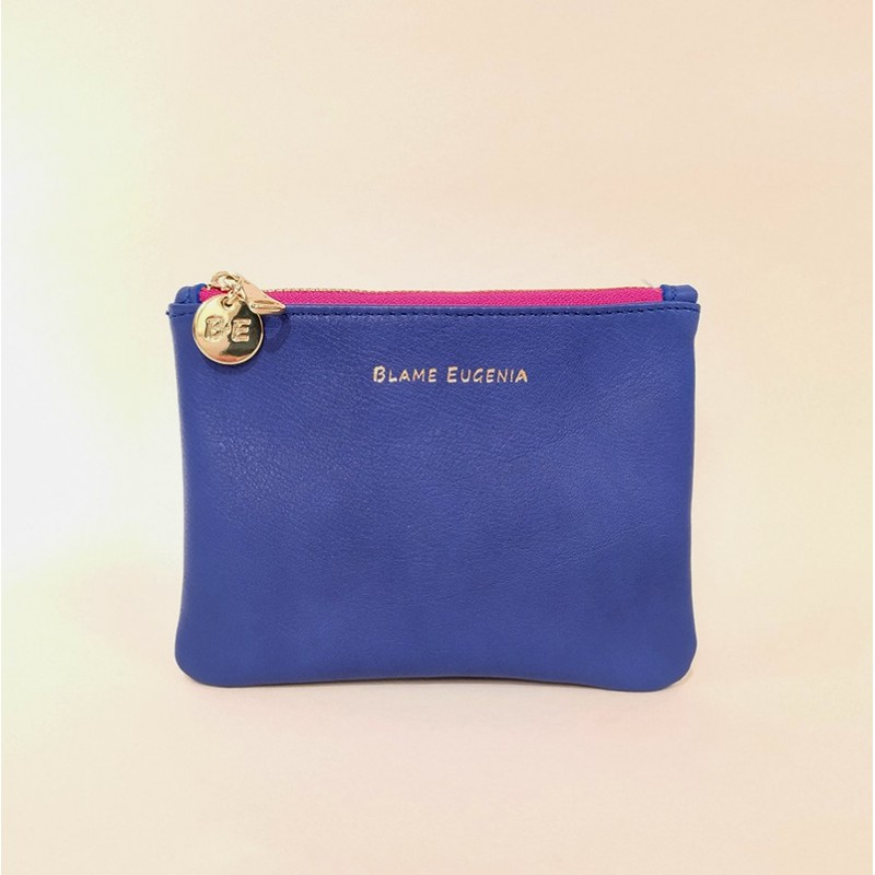 WALLET CLUTCH Blau Indigo