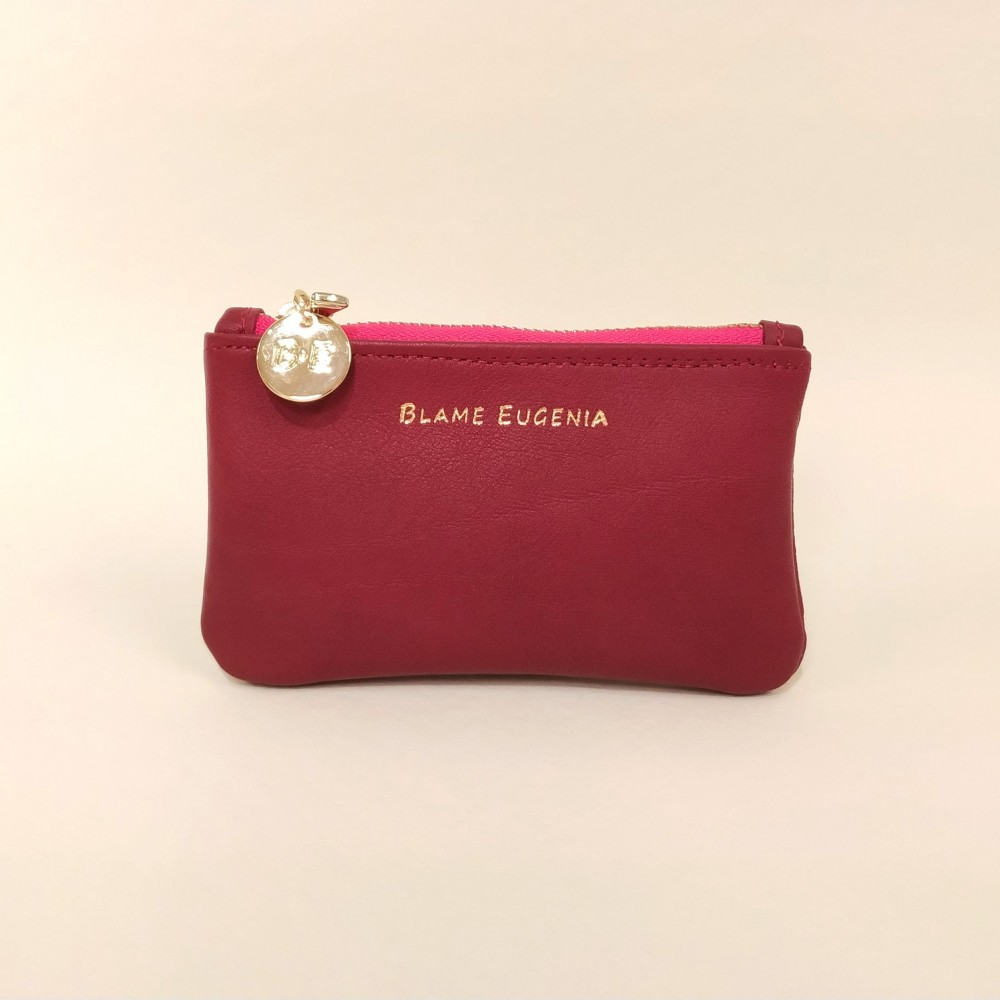 COIN CLUTCH Cherry