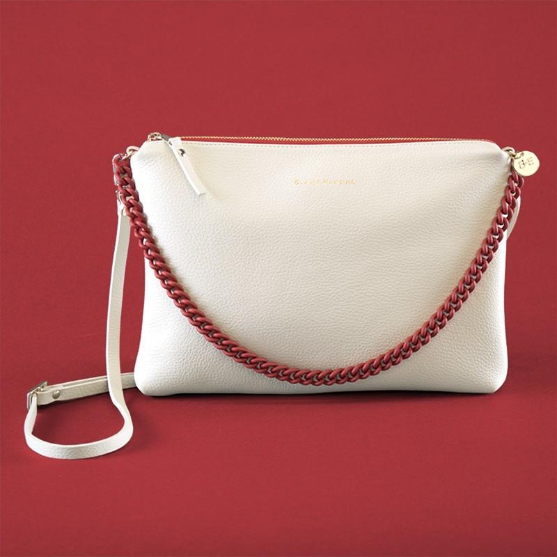 VALENTINA Blanc/Vermell
