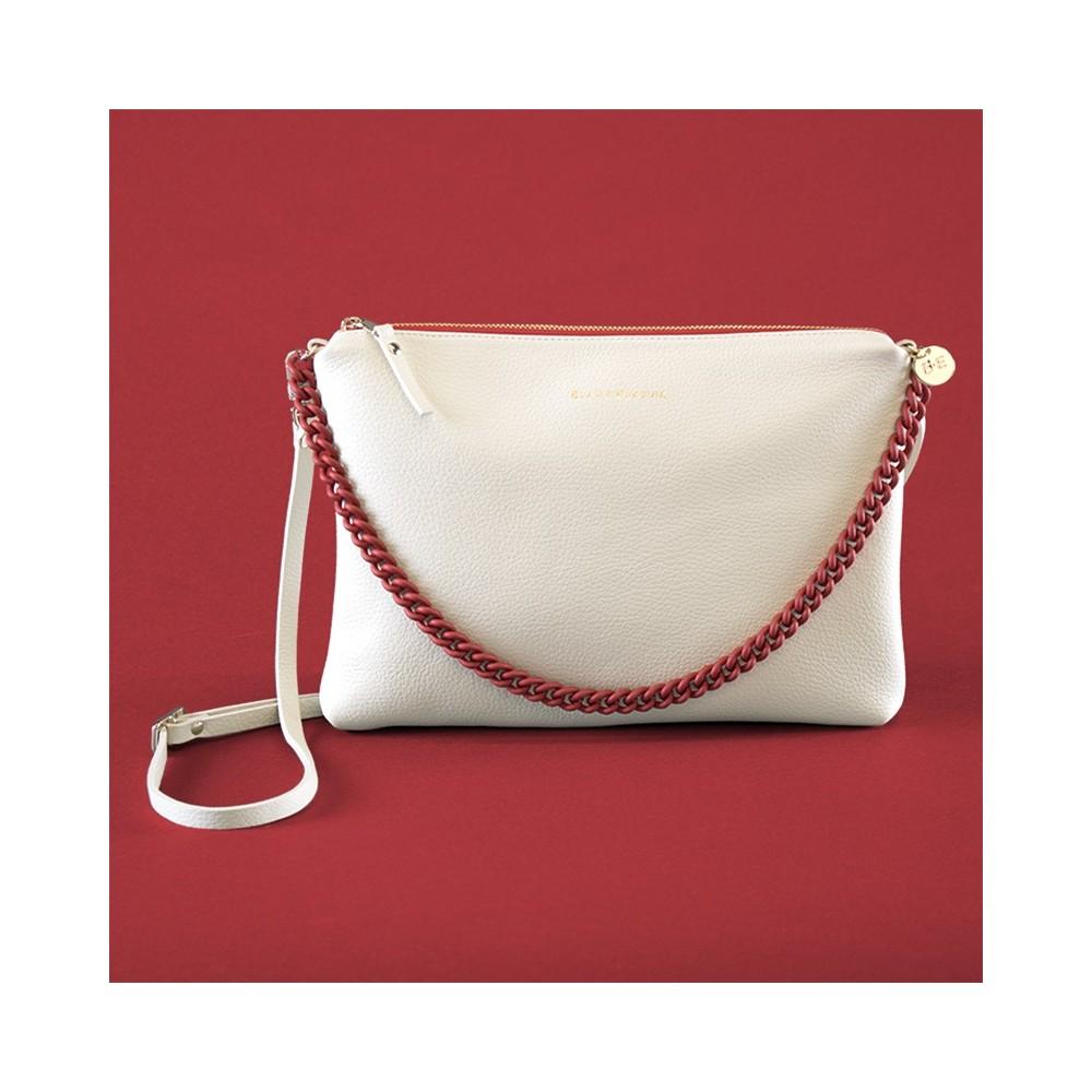 VALENTINA Off white/Red