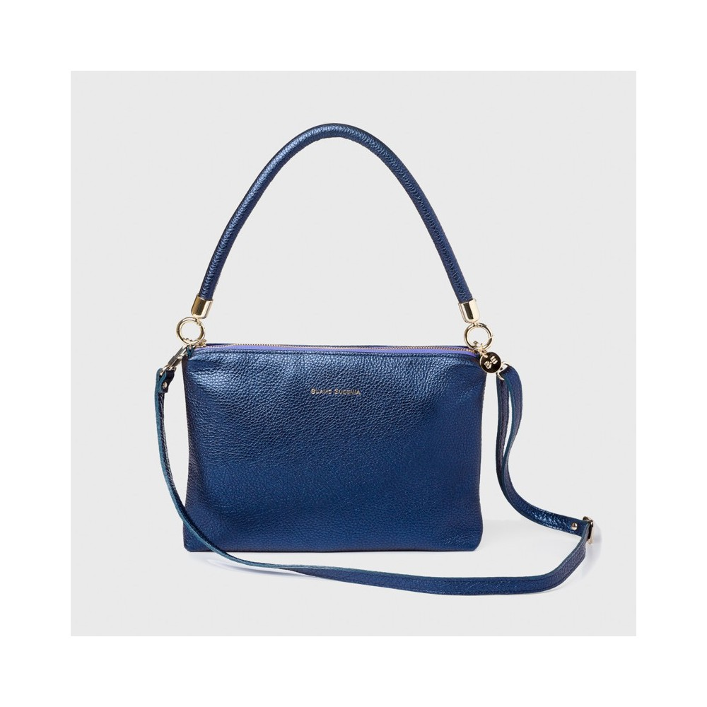 EUGENIA METALLIC NAVY BLUE